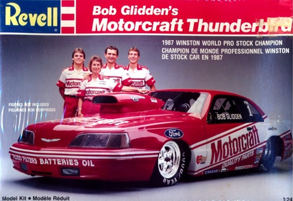 1987 Bob Gliddens Motorcraft Pro Stock Thunderbird 124 Fs